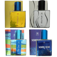 1 AROCHEM FASHION PERFUME (30 ML) + 1 AROCHEM BLUE STAR PERFUME (30 ML) + 1 AROCHEM SEVEN SEAS PERFUME (30 ML) + 1 AROCHEM BLACK OUDH PERFUME (30 ML)