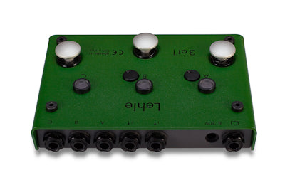 Lehle 3at1 Switcher for 3 instruments to 1 amp