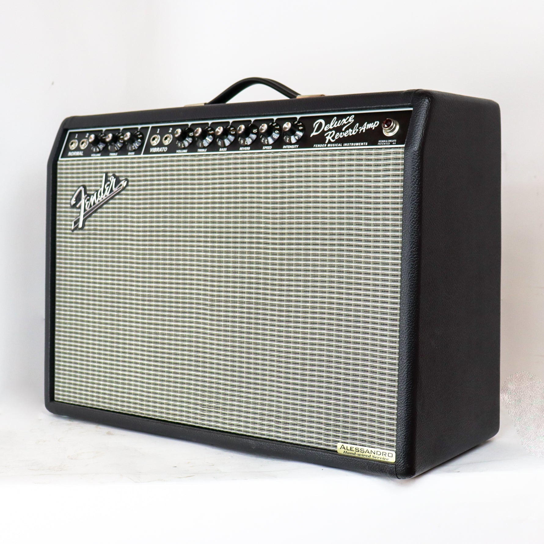 Fender 65 Deluxe Reverb Modified by George Alessandro