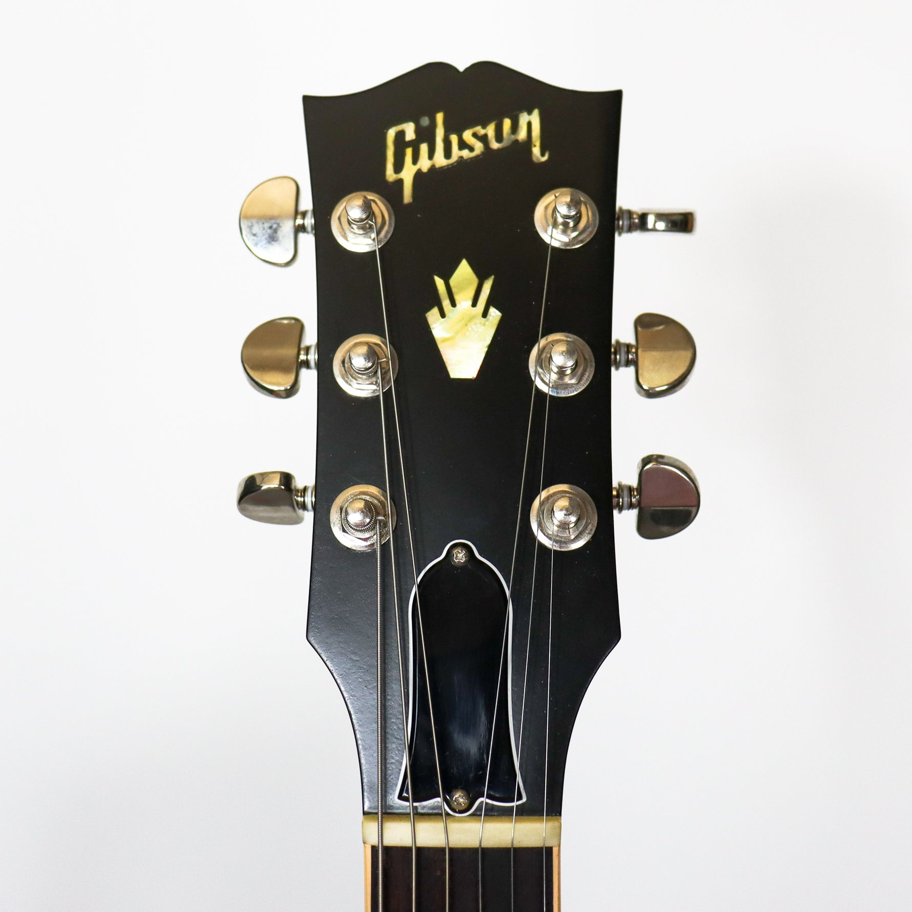Gibson ES-335 Dot Transparent Black