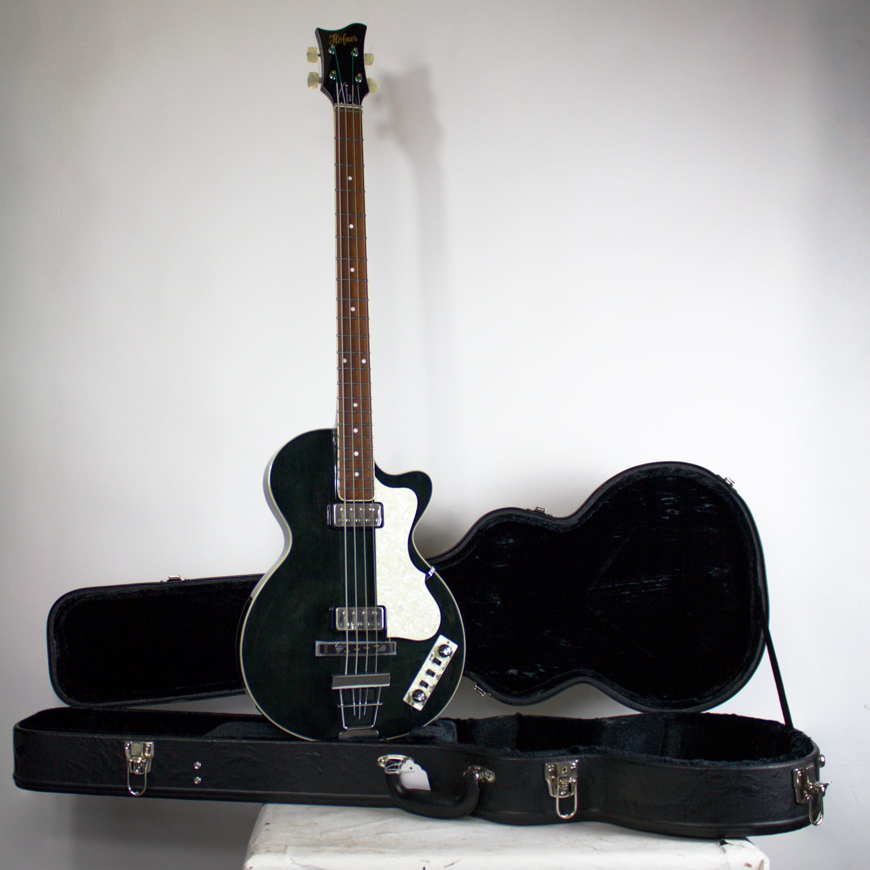 Hofner Contemporary Club Bass Black