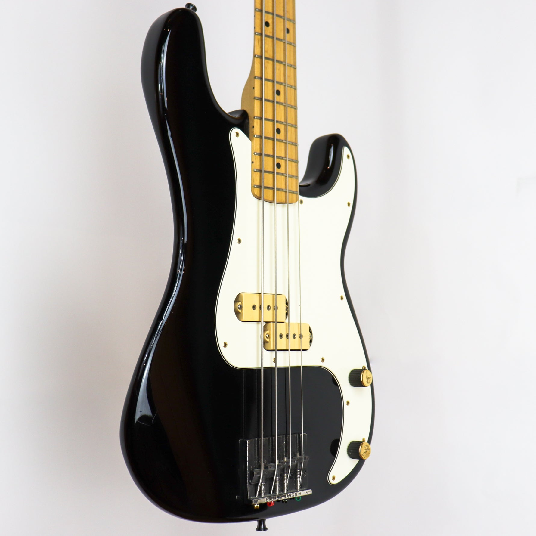 Fender 1983 Elite I Precision Bass Black w/gig bag