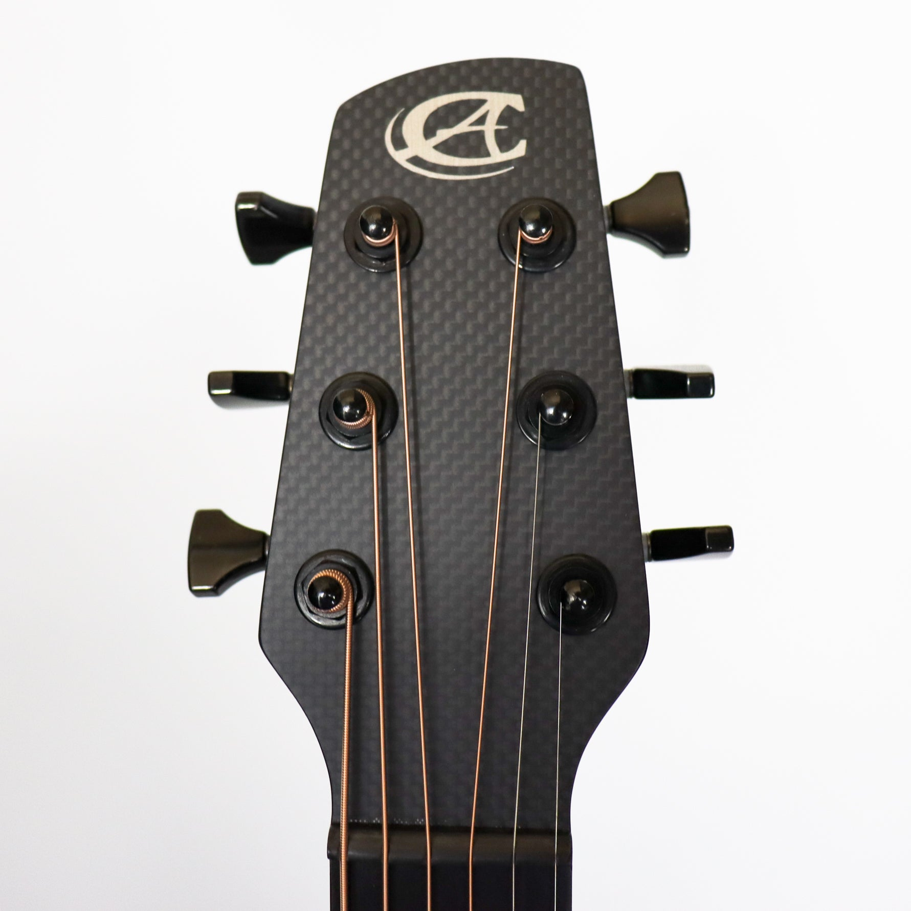 Composite Guitars Cargo ELE Satin Black Raw Carbon Fiber Top