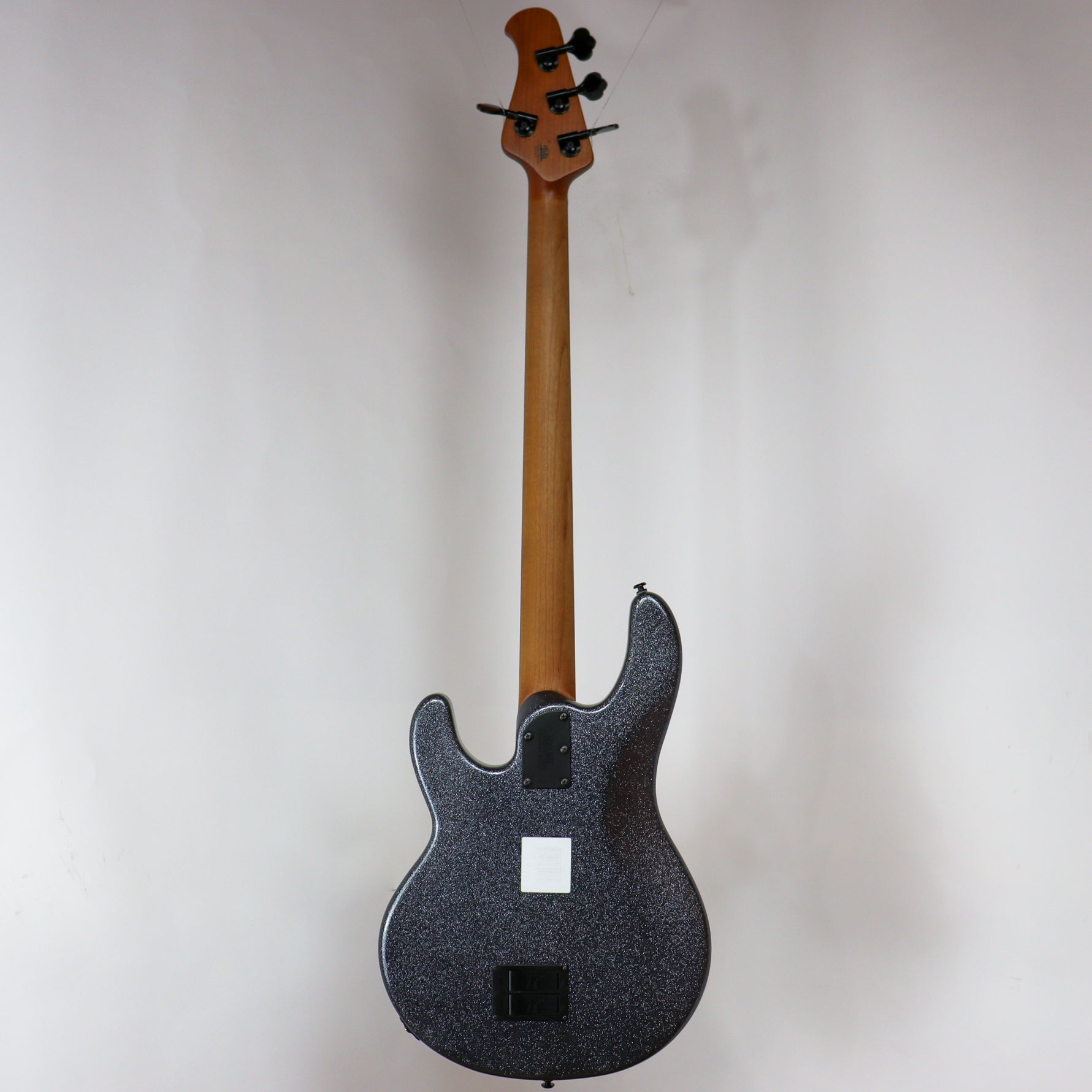 Musicman StingRay 4 String H Charcoal Sparkle Roasted Maple/Ebony