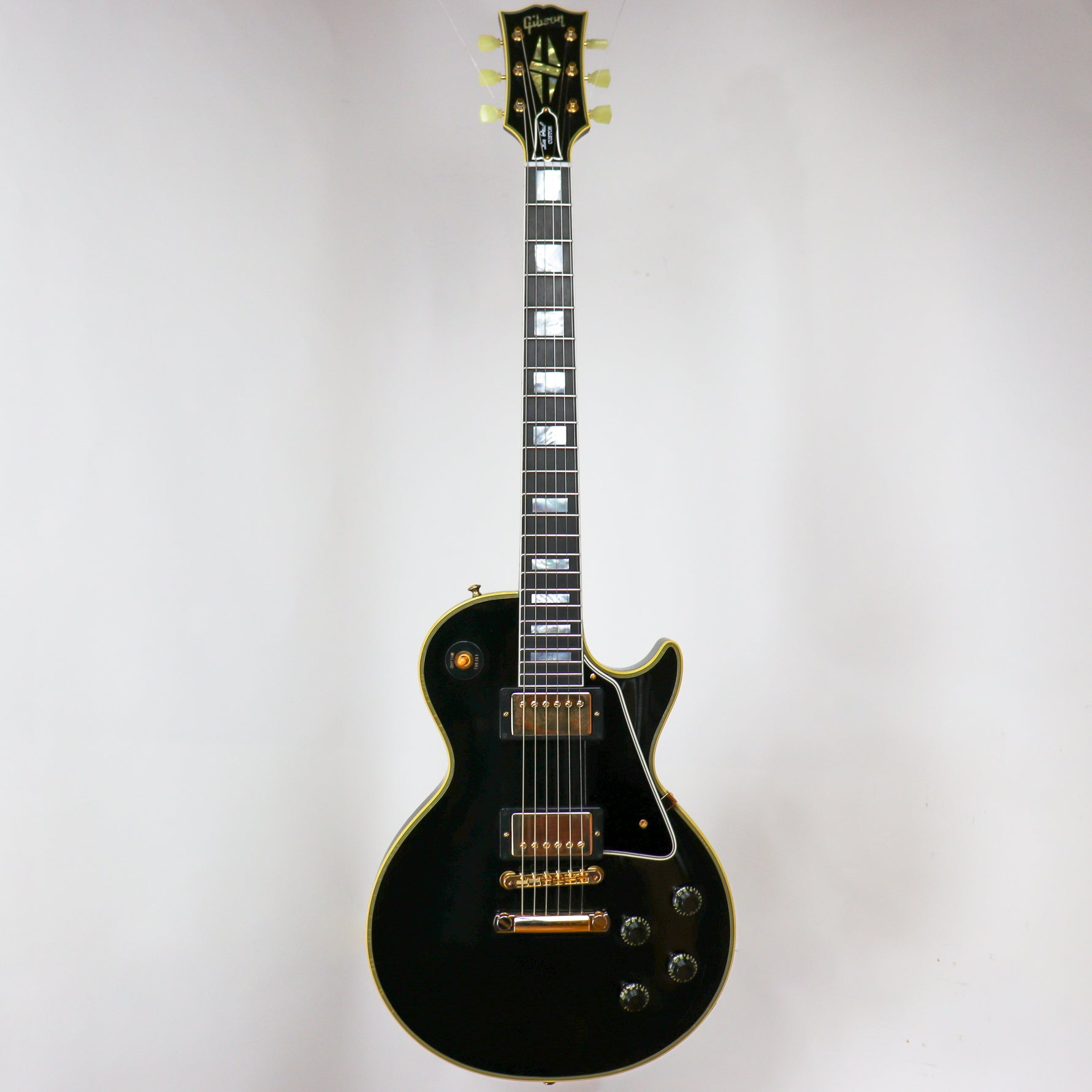 1957 Les Paul Custom Reissue 2-Pickup Ultra Light Aged Ebony