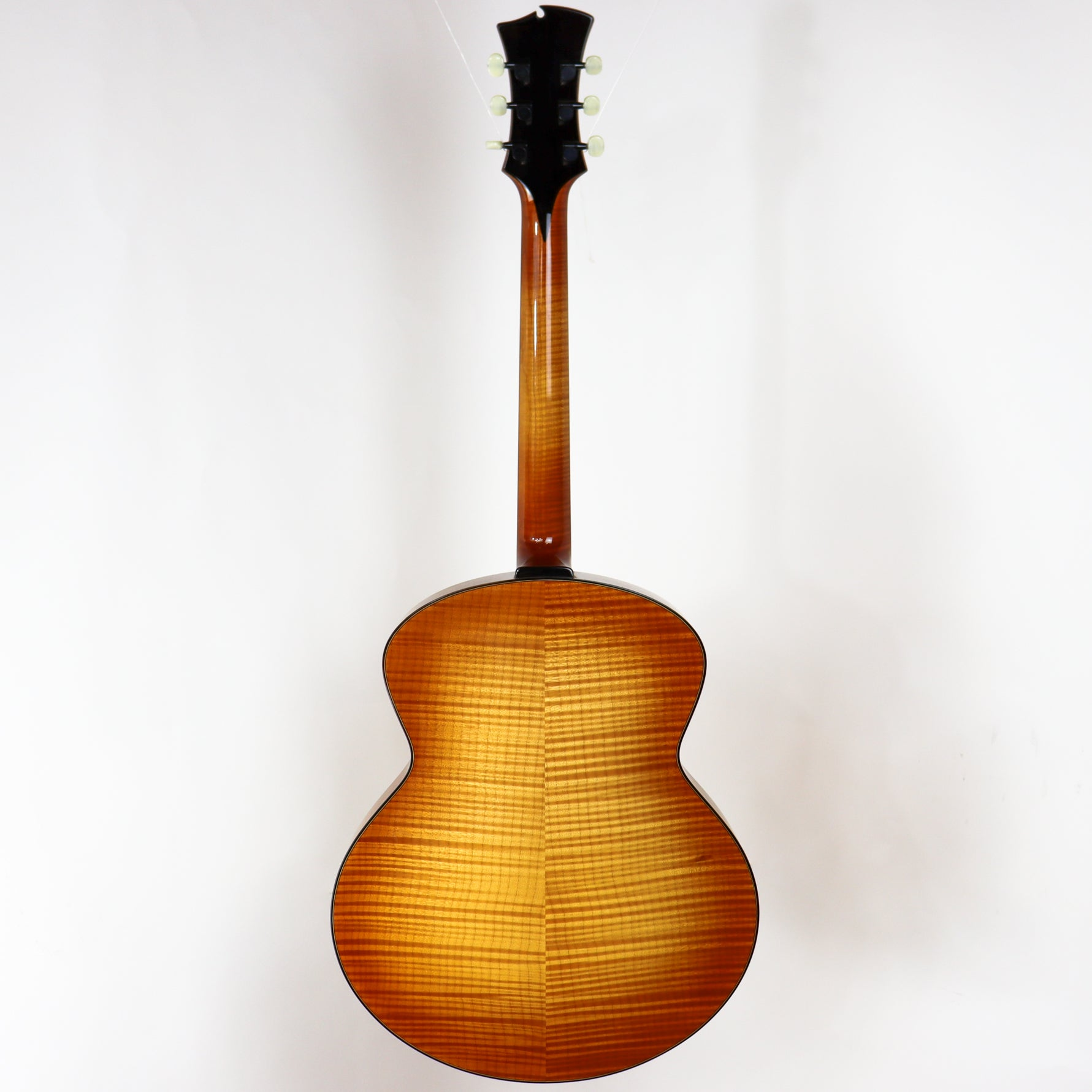 D'Ambrosio 2008 Custom Oval Hole Archtop, Bearclaw spruce, Flame maple, with Original Hardshell Case