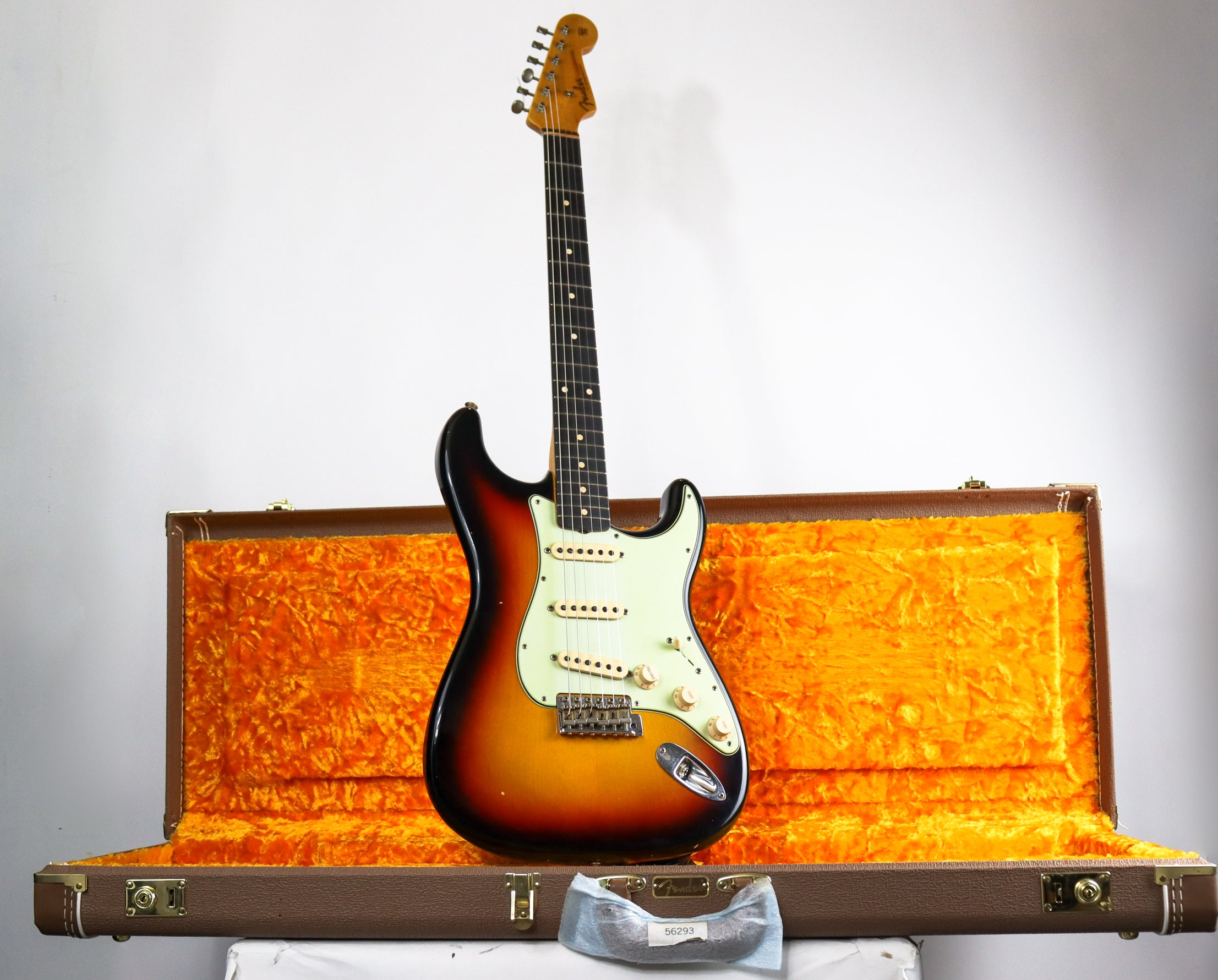 "Fender ""Rudy's Music 40th Anniversary"" 1962 Strat RW Journeyman Relic 3TSB"