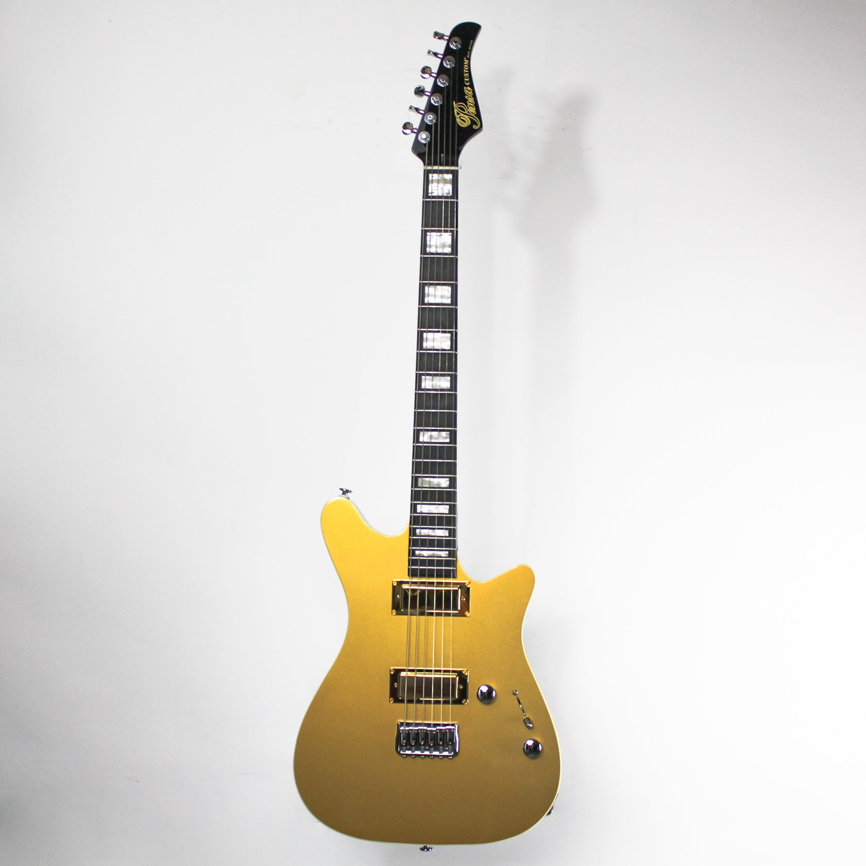 Pensa R Jr. Custom Gold Top 0879
