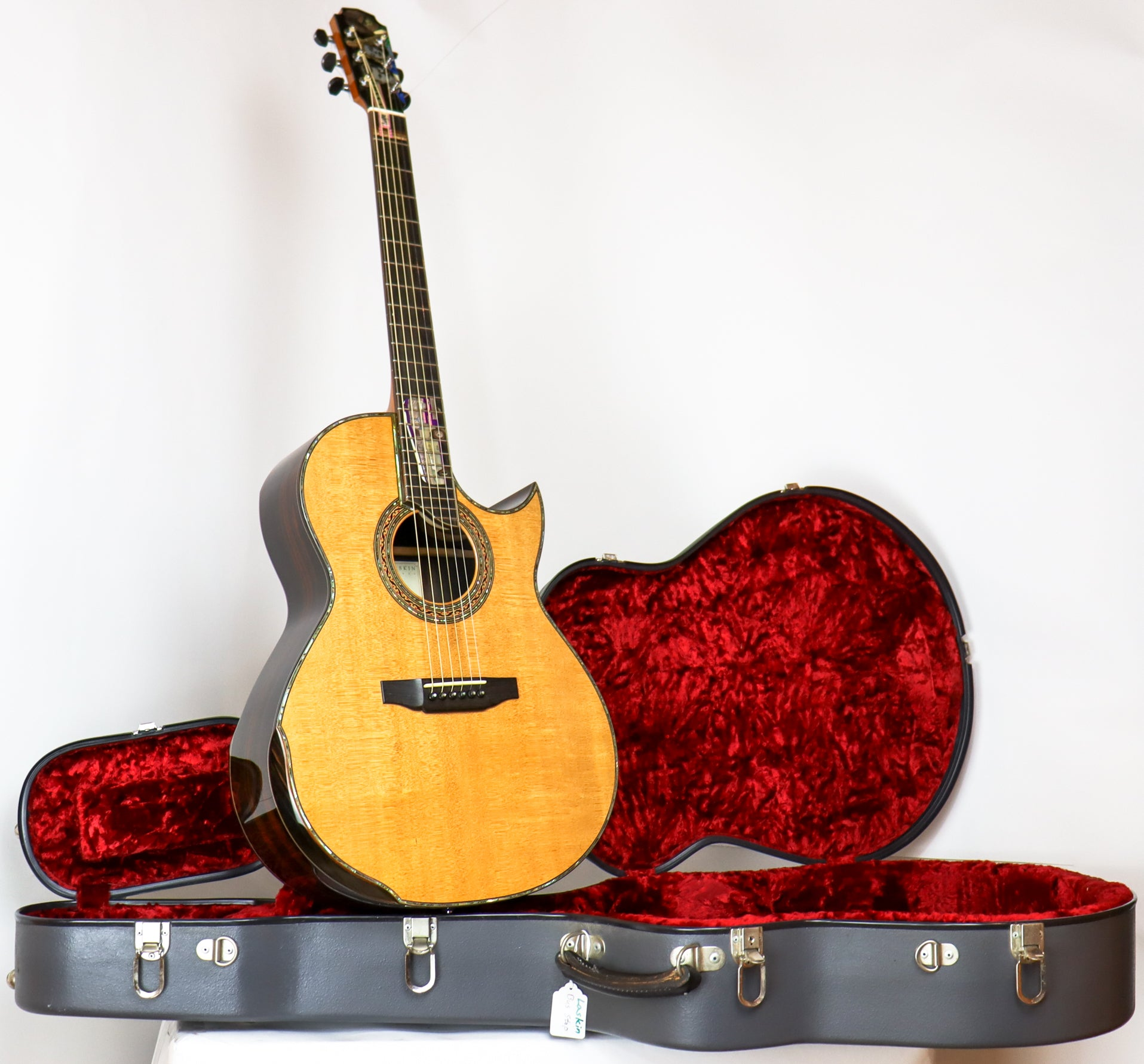 Laskin 1996 Custom Acoustic with Pearl Inlays SN: #311295