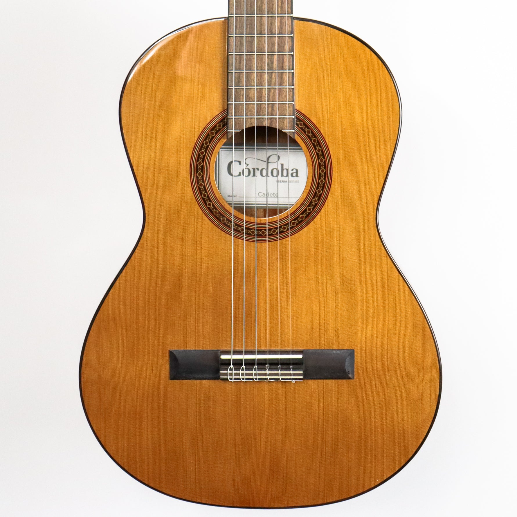 Cordoba Cadete 3/4 size Solid Canadian Cedar Top, African Mahogany Back and Sides