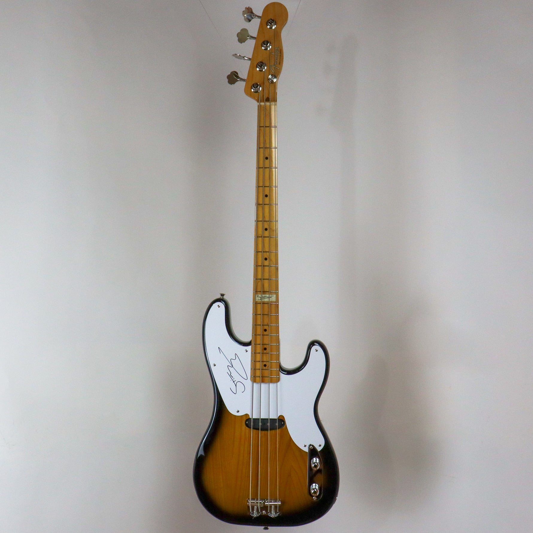 Fender 1995-96 Sting Signature Precision Bass, signed by Sting, made in Japan w/gig bag U061899