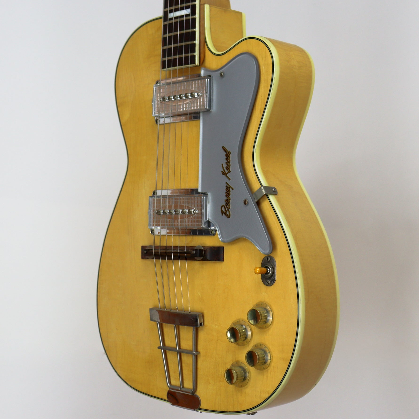 Kay k6700 Barney Kessel Artist Model Blonde Late '50s