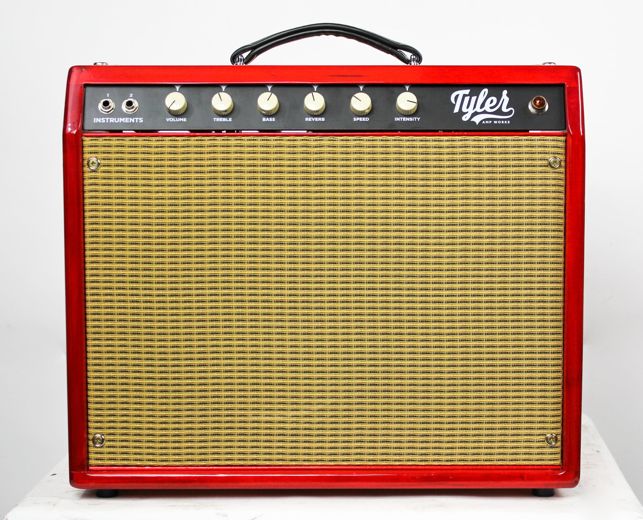 Tyler Amps JT22 22W Amplifier Sunburst w/cover