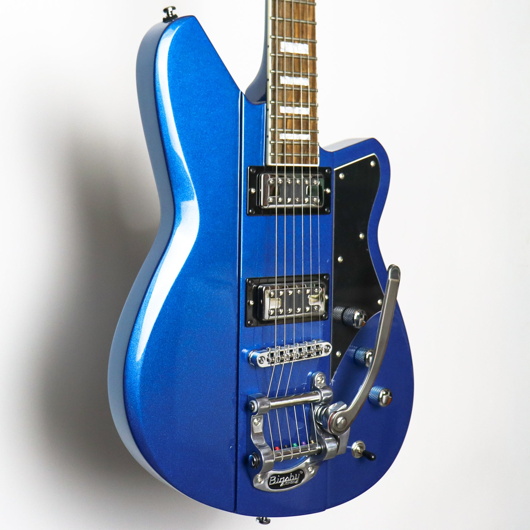 Reverend Warhawk RT Superior Blue Blackwood Board