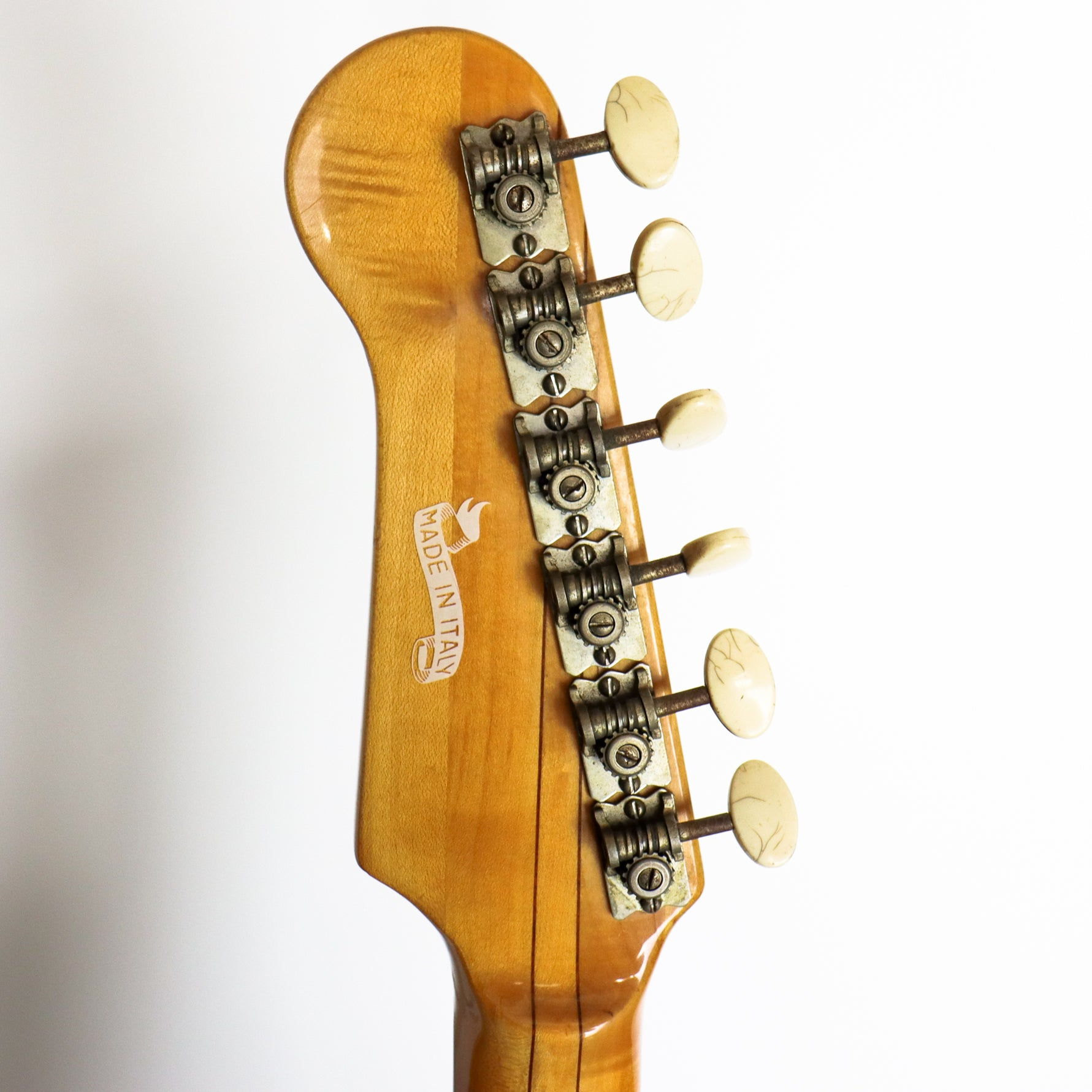 EKO 1960s Gold Sparkle 500 V4 Dot Inlay