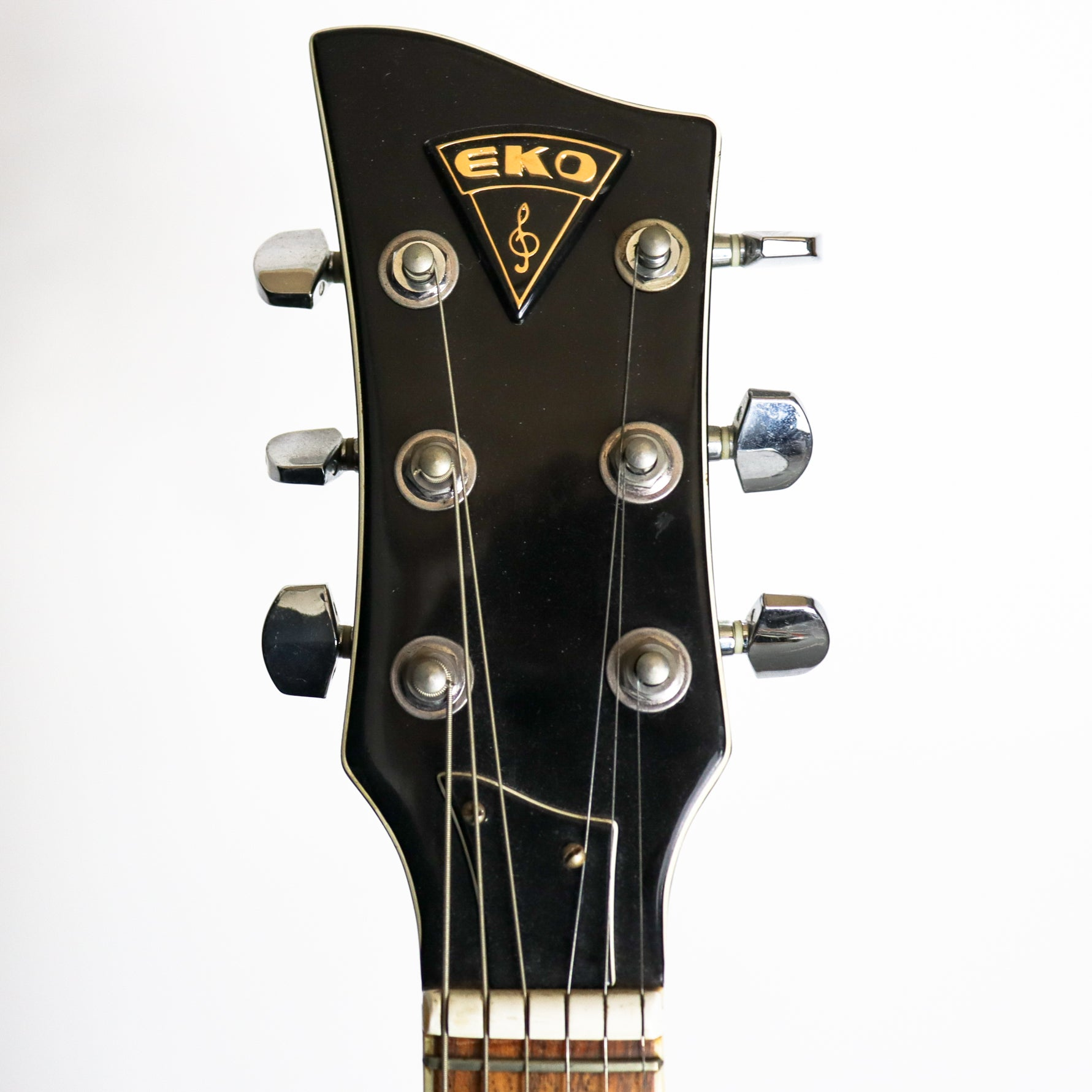 EKO 1960s Florentine Sunburst, Single Cutaway