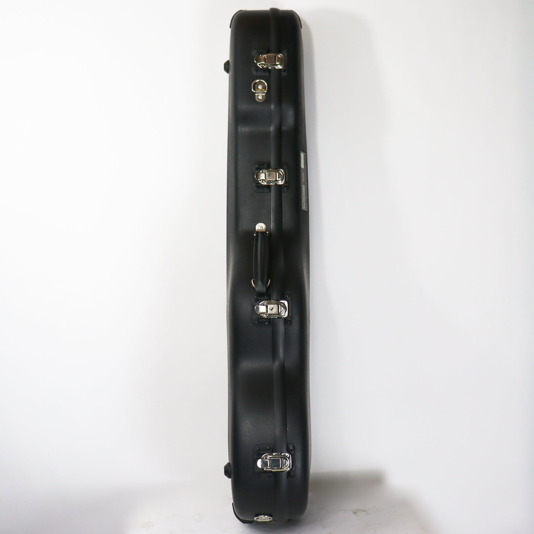 Calton Case for a Stratocaster Black Exterior & Interior with Backpack Straps
