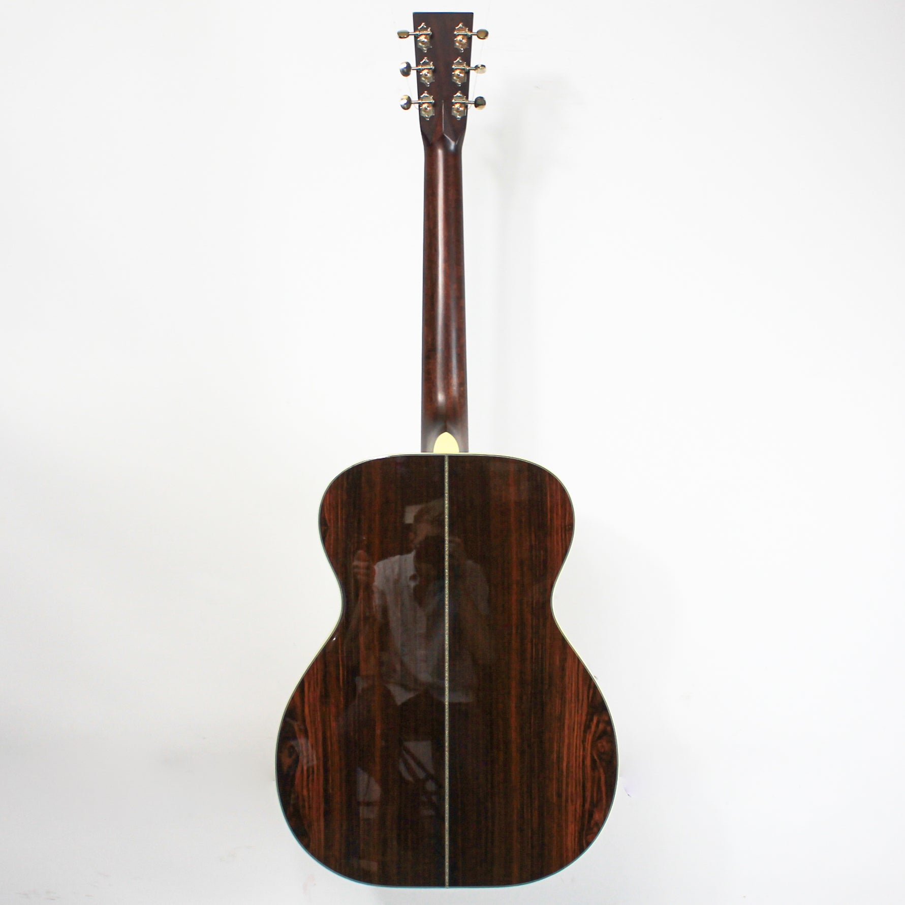 Huss and Dalton TOM-R Custom, Thermo Cured Red Spruce & Cocobolo