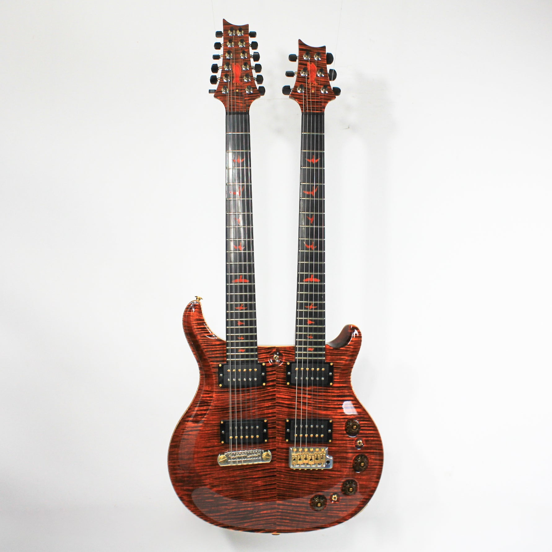 Paul Reed Smith 2014 Private Stock Double Neck # 5358 w/OHSC