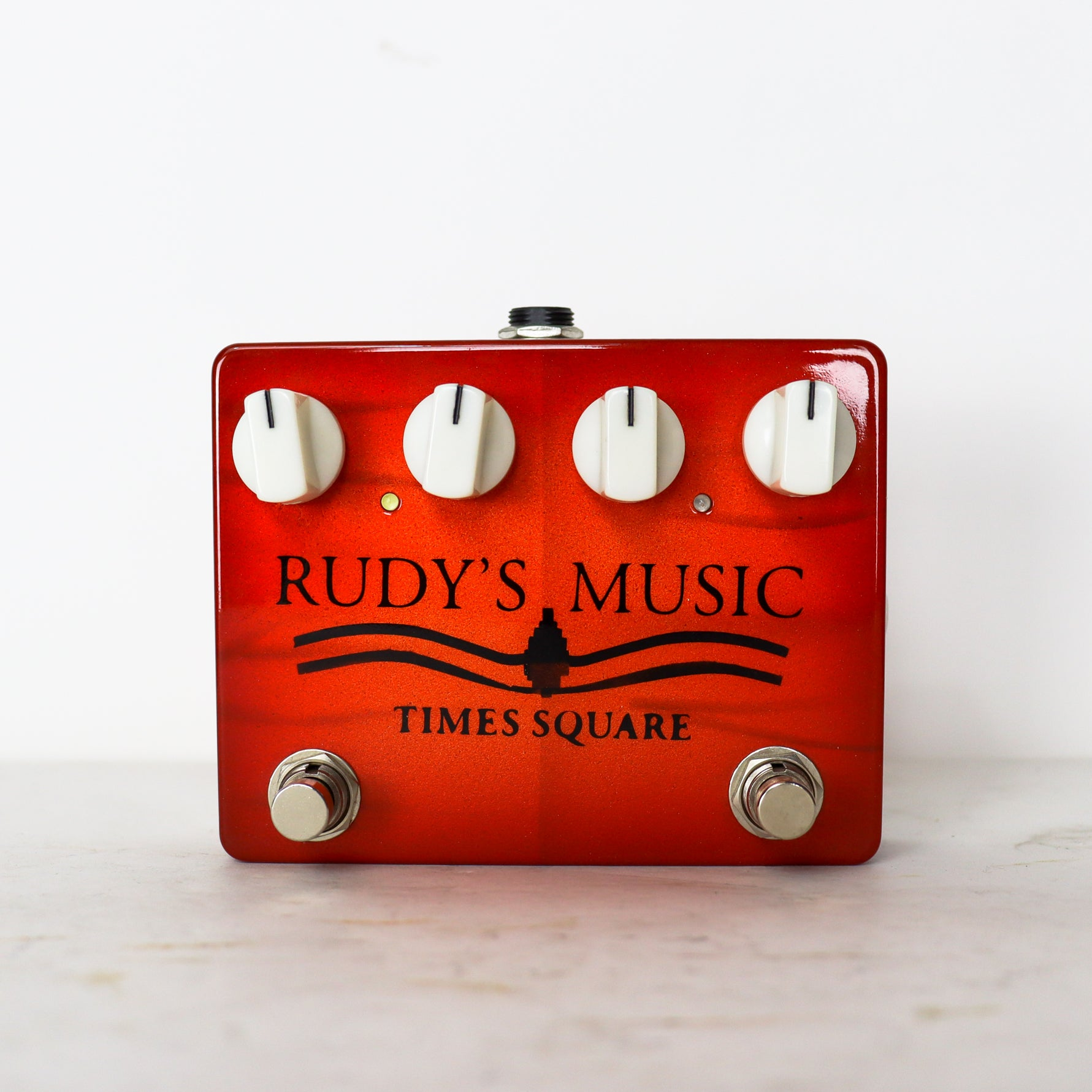 Solid Gold FX Surf Rider Deluxe Limited Edition Rudy's Music model with Times Square logo