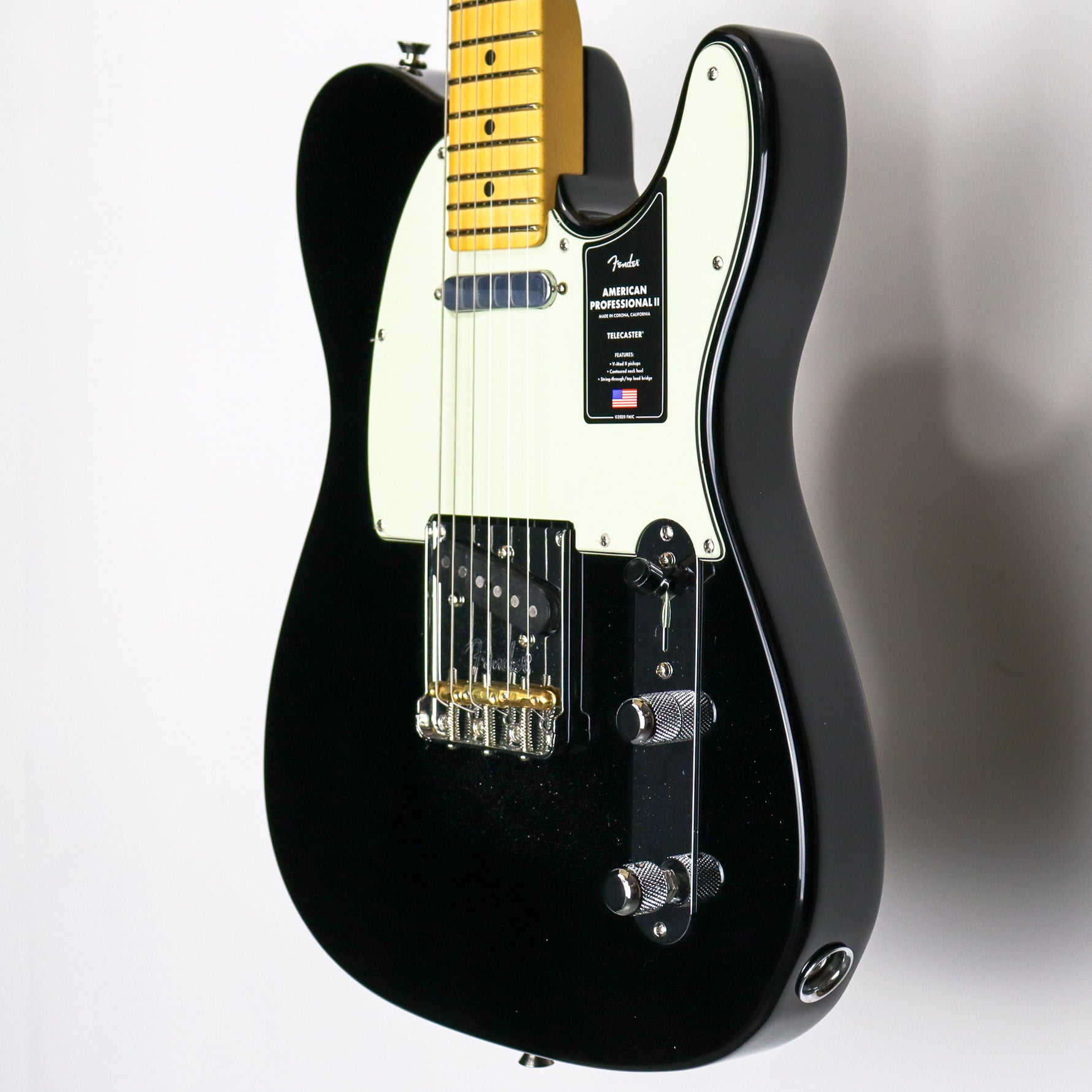 Fender American Professional II Telecaster Maple Neck Black