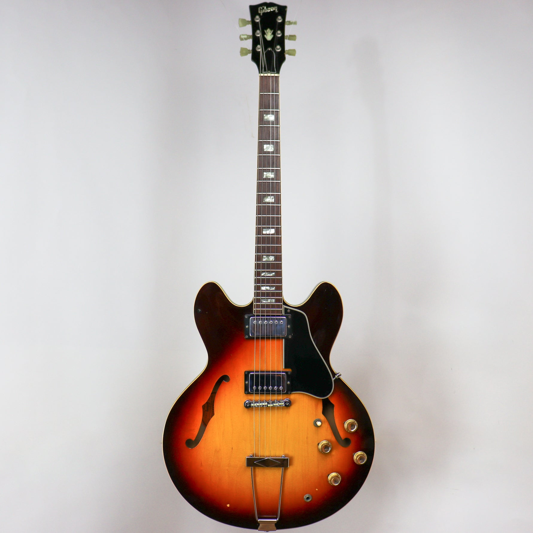 Gibson 1967 ES-335TD Sunburst owned by Eric Johnson 053815 w/OHSC