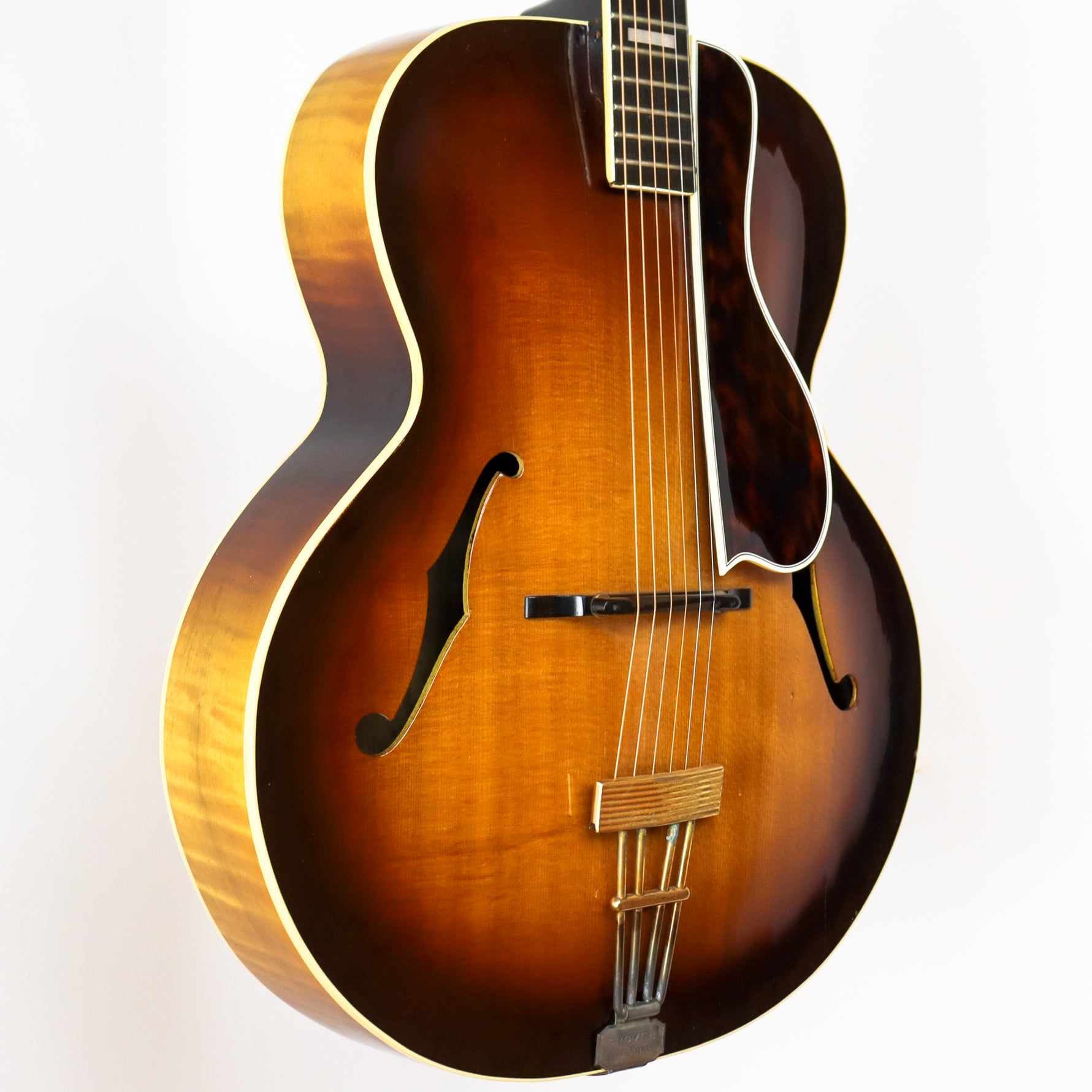 D'Angelico 1938 Style A-1 Sunburst SN# 1369 with Hardshell Case