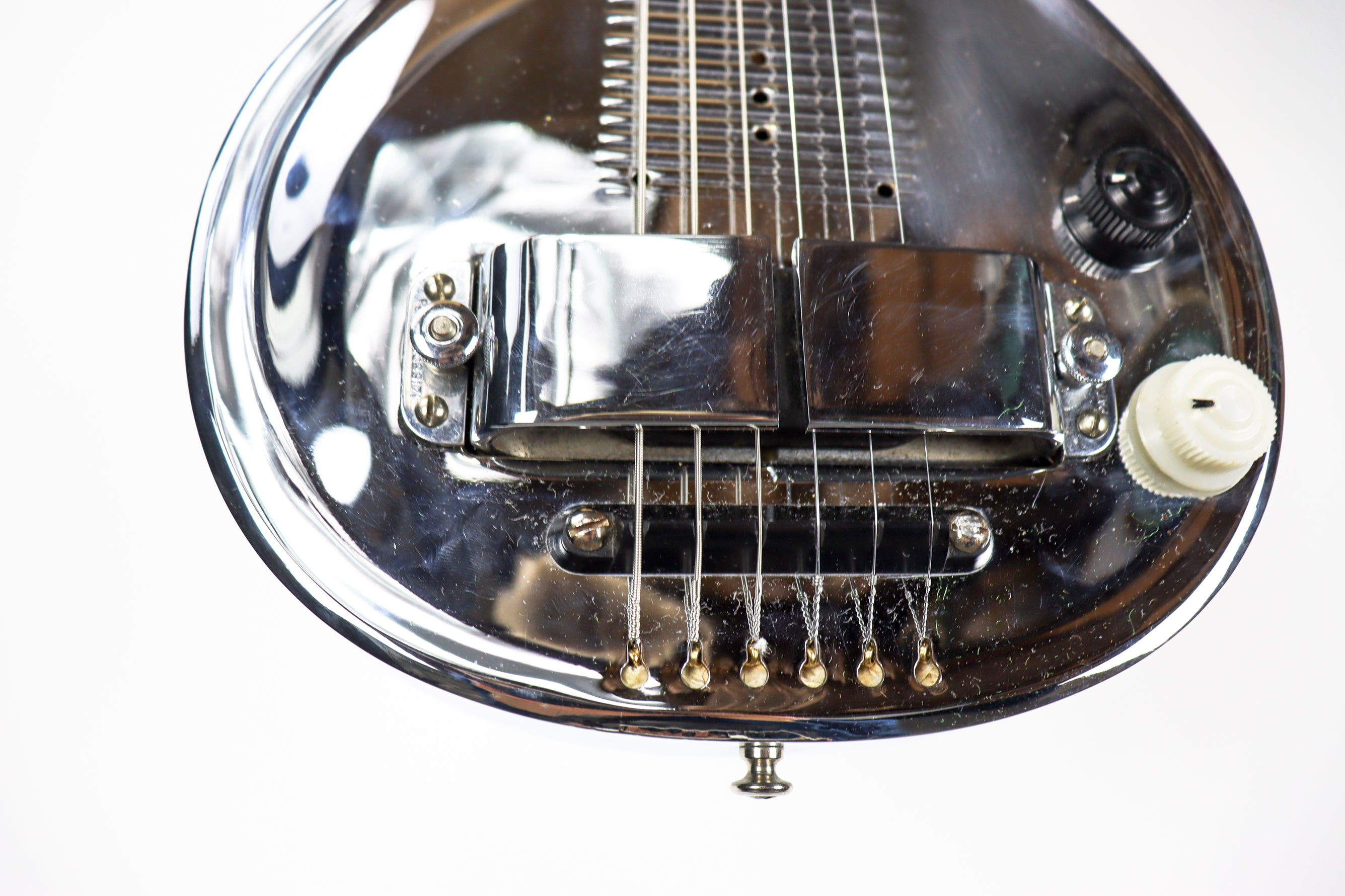 Rickenbacker 1939 Silver Hawaiian Lap Steel