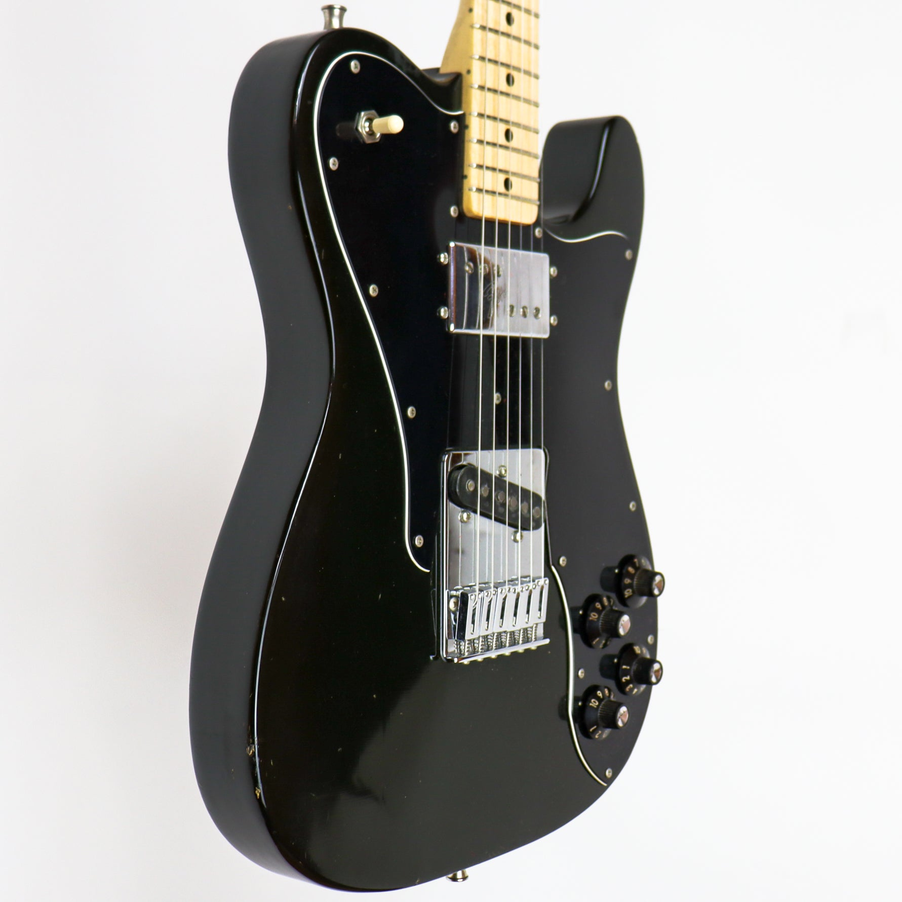 Fender 1975 Tele Custom Black 583227 w/OHSC