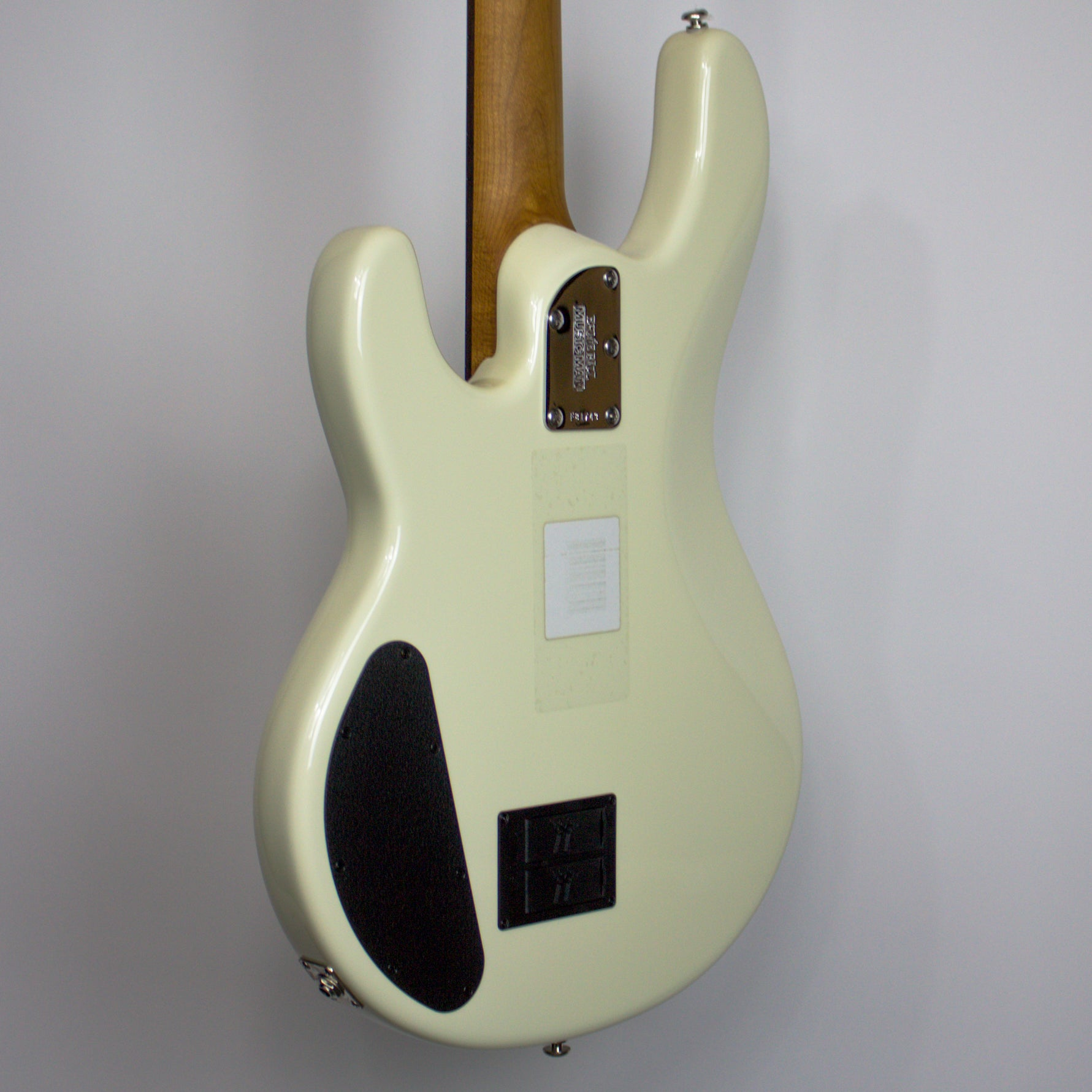 Music Man Sting Ray HH RW Ivory White