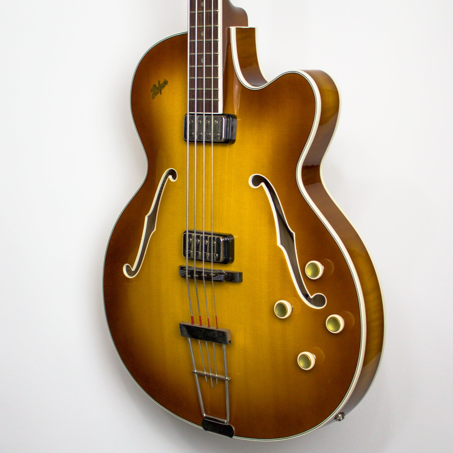 Hofner H500/18 1962 Reissue Semi Hollow Bass