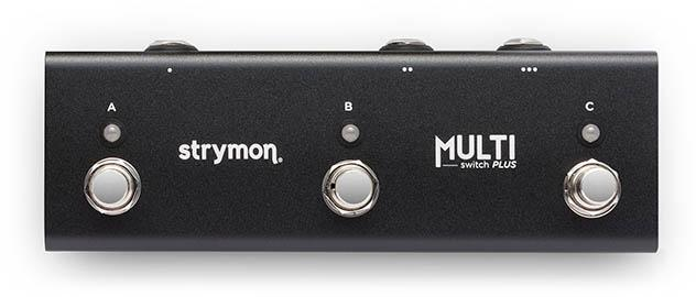 Strymon MultiSwitch + Extended Control for Timeline, BigSky and Mobius