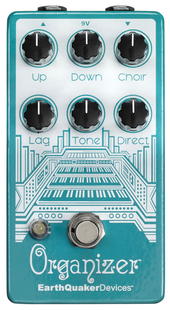 Earthquaker Devices Organizer Polyphonic Organ Emulator