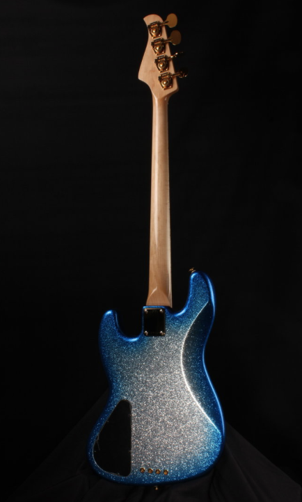 Pensa Custom J-4 Silver Flake Blue Burst
