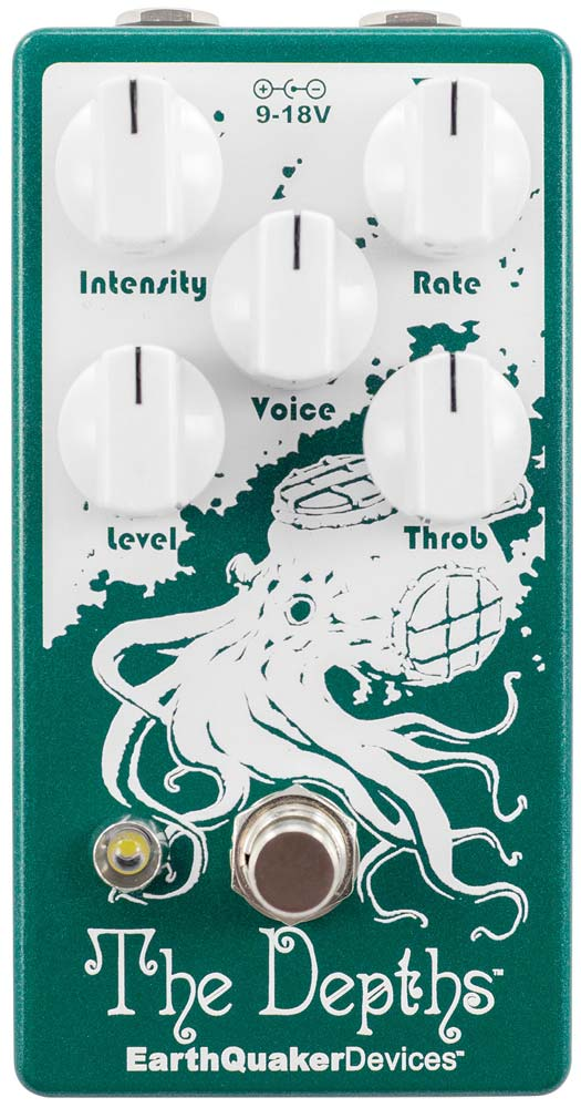 Earthquaker Devices The Depths Analog Optical Vibrato