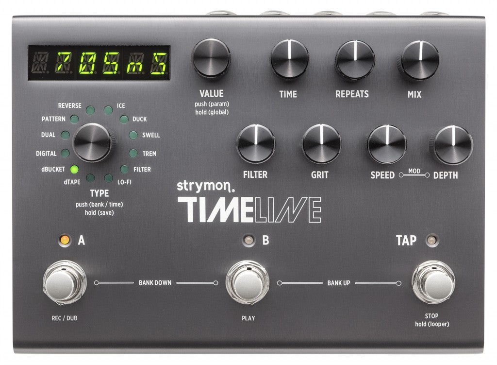 Strymon TimeLine Multidimensional Delay Effects Pedal