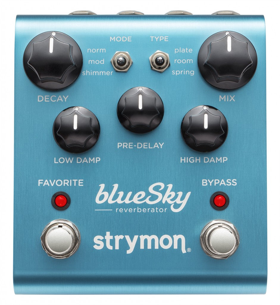 Strymon blueSky Reverberator Reverb effects pedal