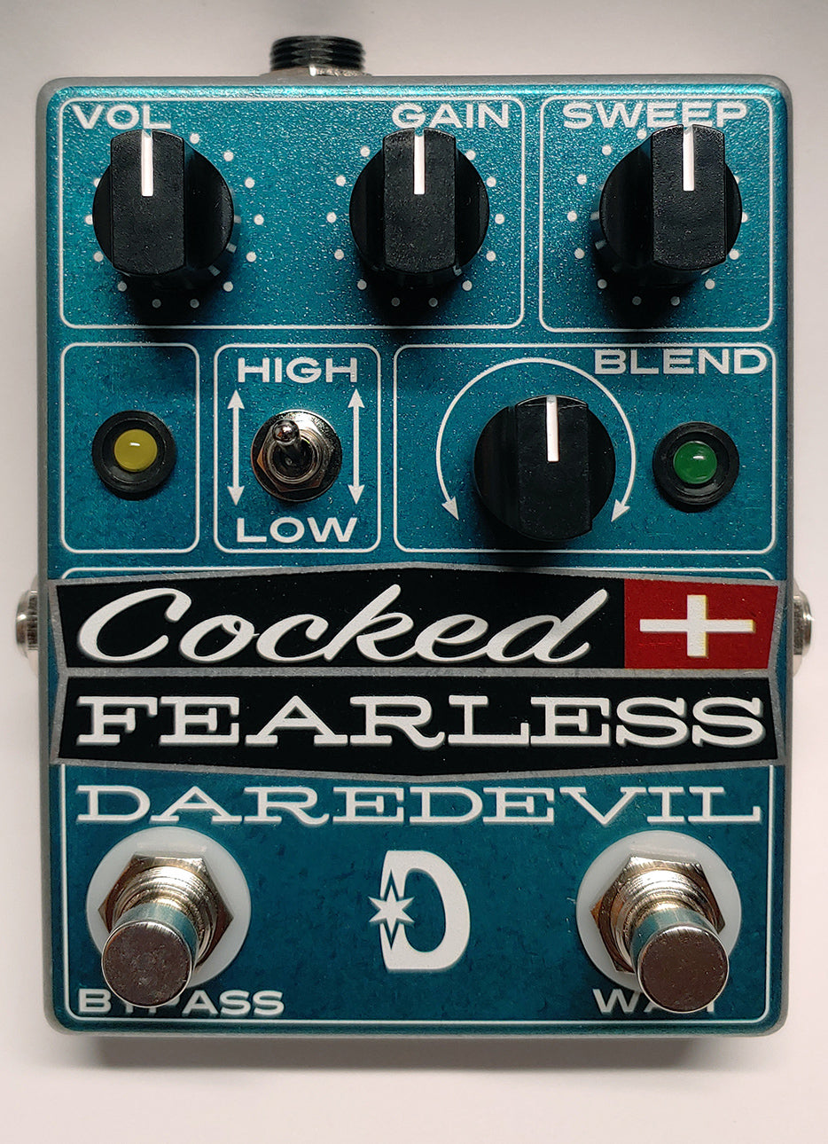 Daredevil Cocked and Fearless Distortion