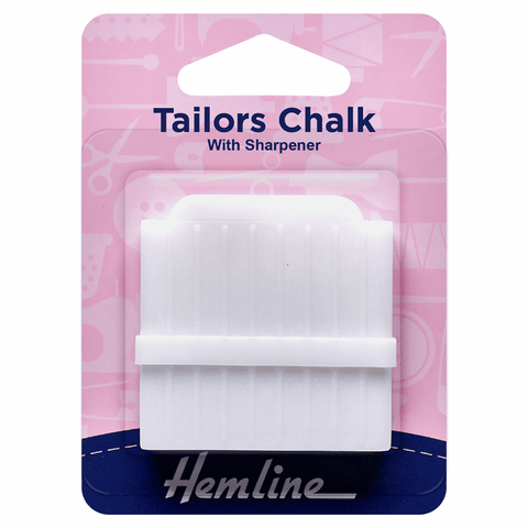 Tailors Chalk with Sharpener