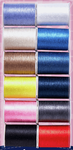 12 Colours x 30m Sewing Thread Gift Set