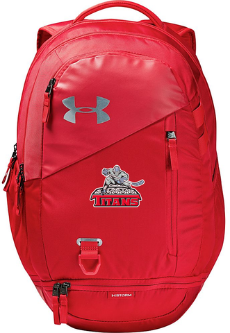Under Armour Hustle Backpack - Red