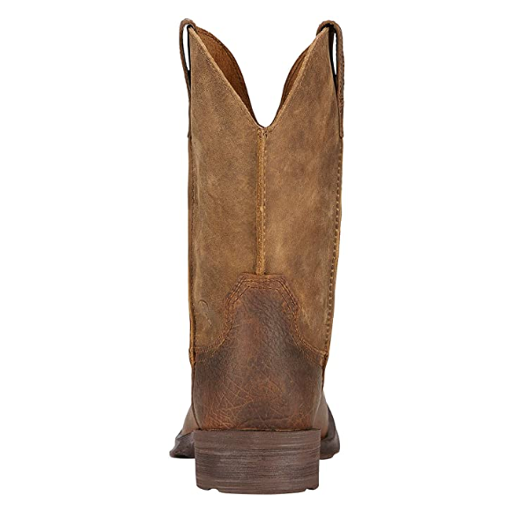 Men's Rambler Wide Square Toe Western Cowboy Boot
