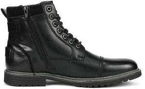 Men's Motorcycle Boots Oxford Dress Boot