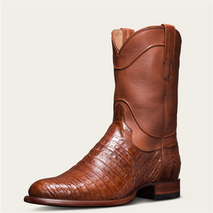 Men's Caiman Belly Roper Boots