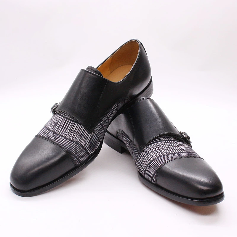 Men's Business Hand Stitching Leather Shoes