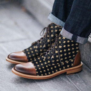 Men's Retro mid-tube boots