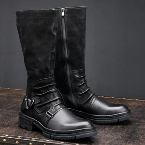 Men's Leather Winter Casual Boots