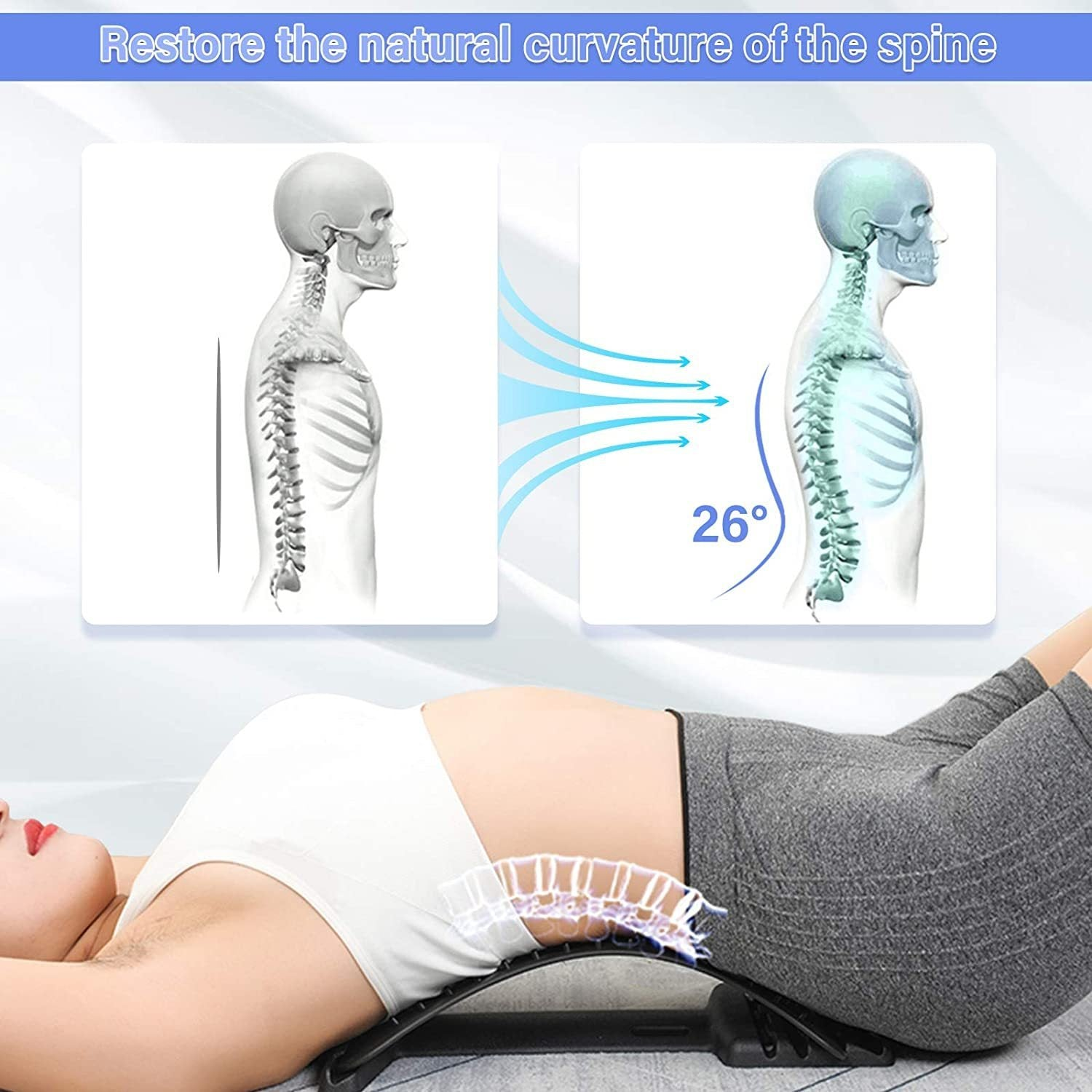 Back Stretcher Pro™ - Pain Relief & Lumbar Stretcher