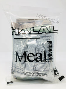 USA HALAL MRE Military Meal-Ready-to-Eat ration