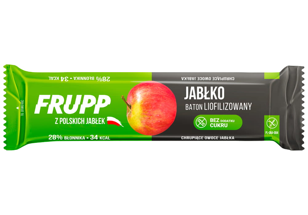 FRUPP Apple - Lyophilized fruit bar